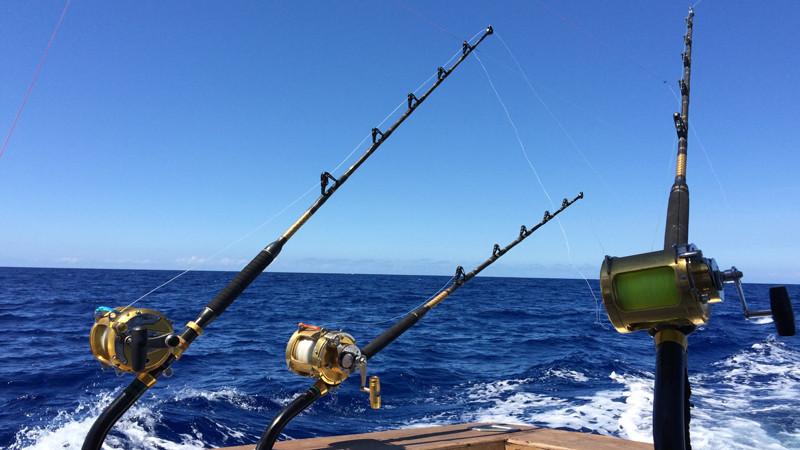 Hawaii marlin fishing oahu charter boats for Fishing supplies honolulu