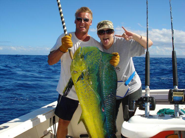 Hawaii marlin fishing maui charter boats for Sport fishing hawaii