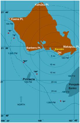 Hawaii marlin fishing oahu deep sea fishing for Fishing spots oahu